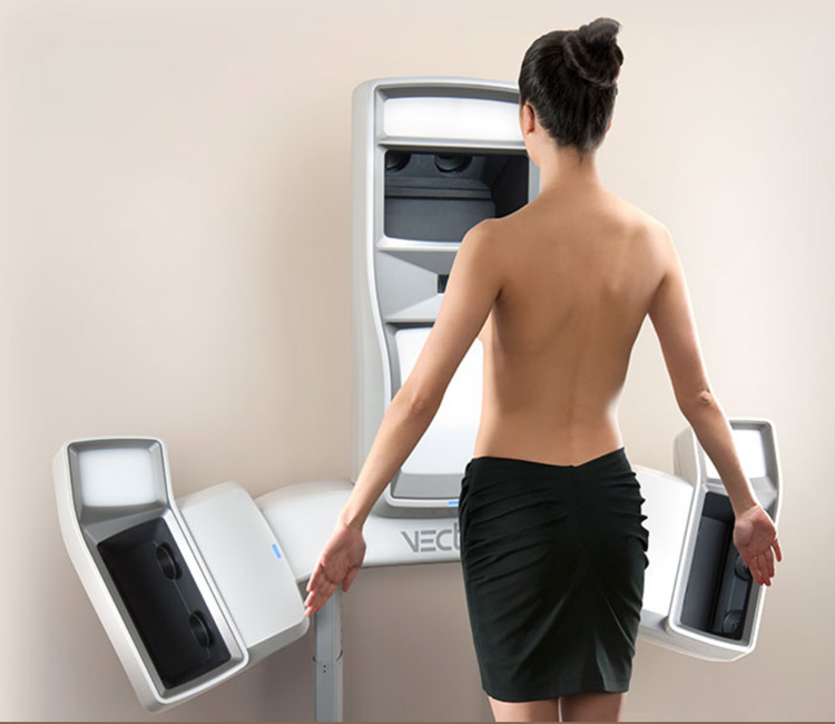 """Vectra 3D is a great way to """"see"""" how you'll look with various size and shape implants before ungoing your breast augmenation procedure."""
