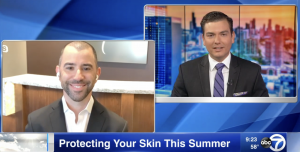 Dr. Iteld discusses protecting skin in the summer with ABC7 news